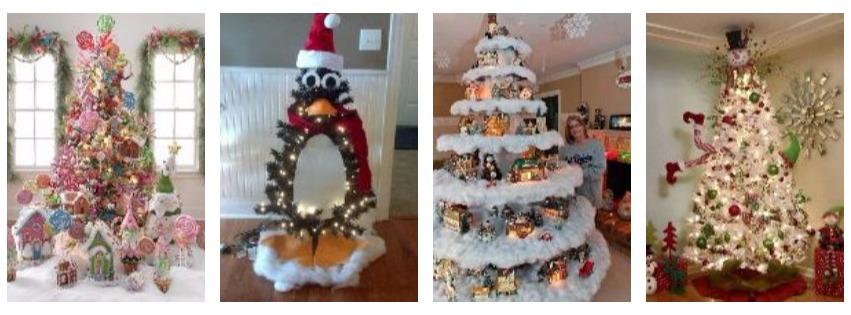 15 kreatív karácsonyfa