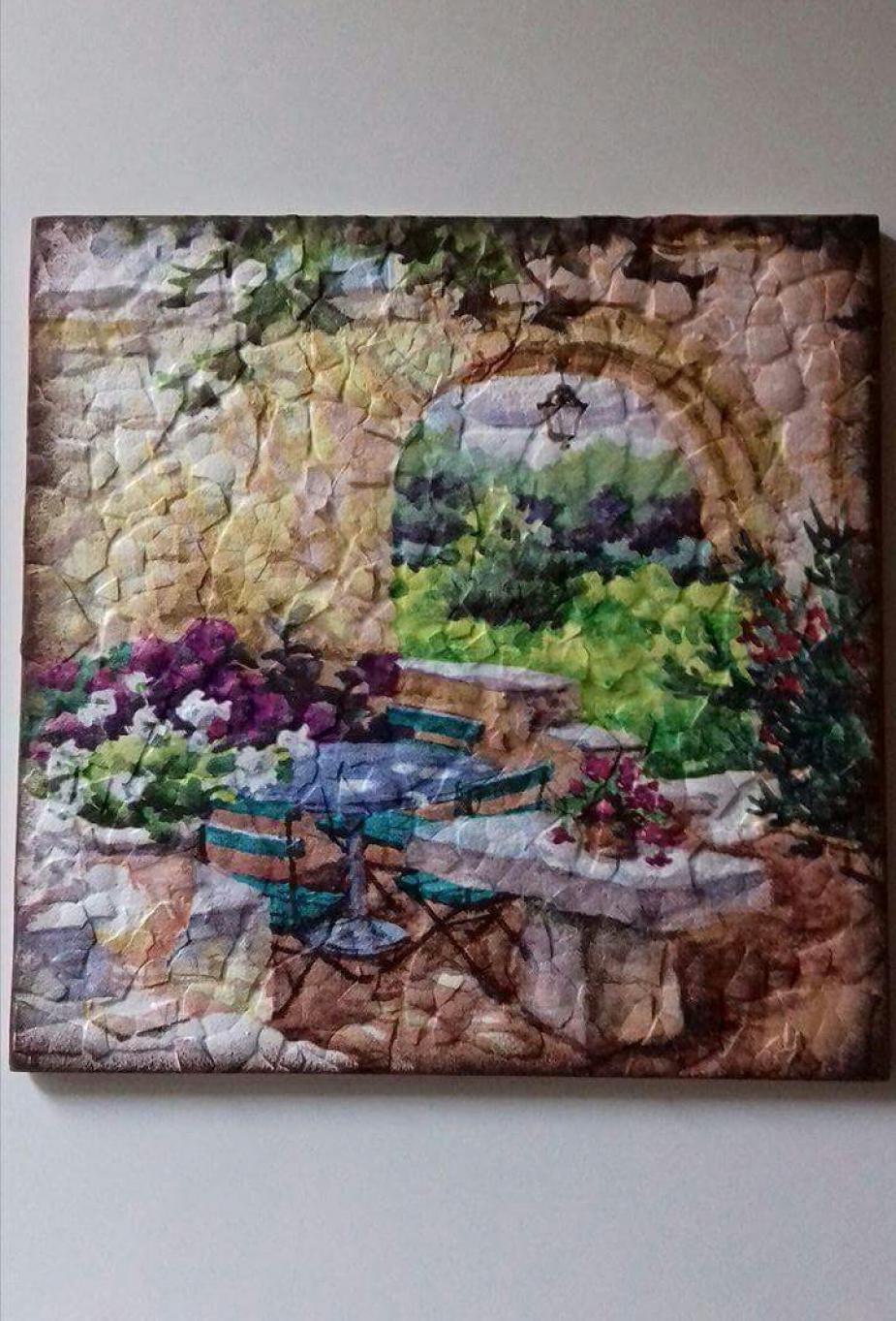 Tojáshéj mozaik