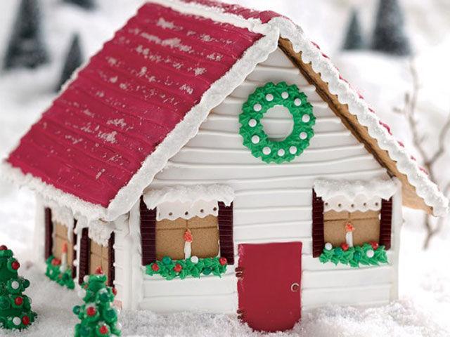 20 karácsonyi mézeskalács ház